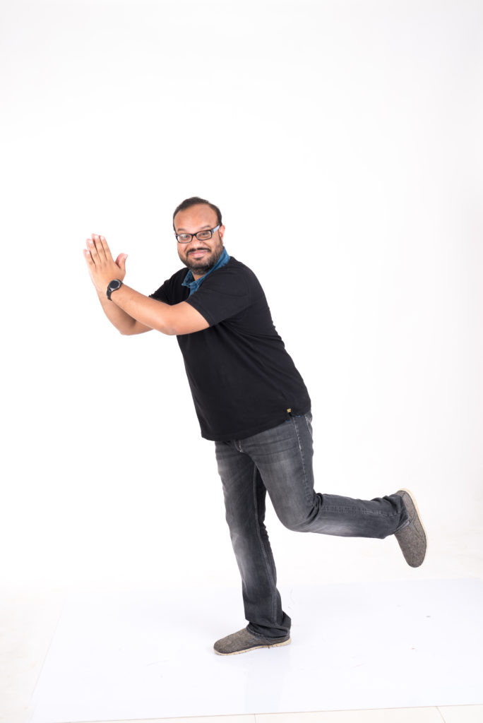 """""""Invest your time in open-mics. Fail, learn and grow"""" says stand-up comic Praveen Kumar!"""